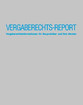 Baurechts Report